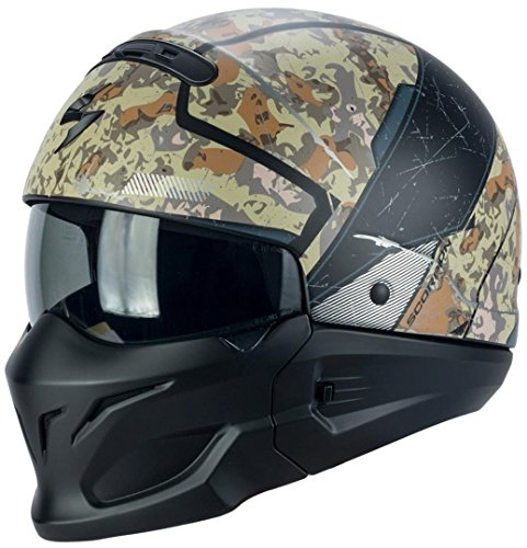 SCORPION HELMET - 82-265-217-04/456 : SCORPION HELMET - 82-265-217-04/456 : Casco Exo-Combat OPEX Color Are/Gri Talla M
