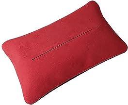 HYTC Pudełko na chusteczki samochodowe siedzenie samochód z papierową torebką wisząca zamsz wnętrze samochodu bez kłaczków...