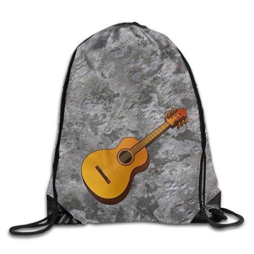 Jack16 Mochila con Cordón para Guitarra, Ligera, para Viaje, de Gym