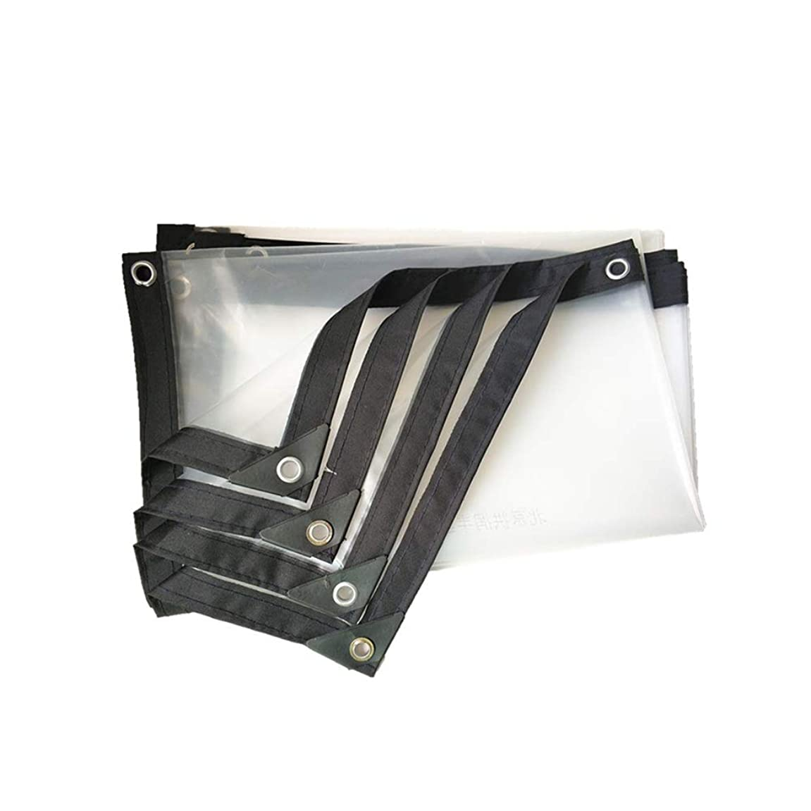 束ねる補償懺悔XIAOYAN オーニング?シェード PEの防水布、透明で厚いポリ塩化ビニールの雨布、屋外の窓の雨絶縁材のフィルム(厚さ0.12mm)120g /㎡ (Size : 2×3m)