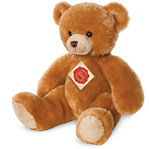 Teddy Hermann 913122 Teddy Plüsch, gold, 29 cm
