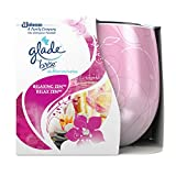 Glade (Brise) Duftkerze bis zu 30 Stunden Brenndauer, Duftkerze im Glas, Relaxing Zen, 1er Pack (1 x 120 g) -