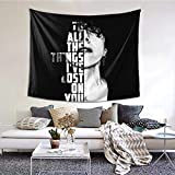 Hdadwy Laura Pergolizzi Tapisserie tenture Murale pour Chambre dortoir Salon décoration de la Maison Art Tapisserie Murale 60X51 Pouces