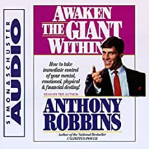 tony robbins awaken the giant within audiobook