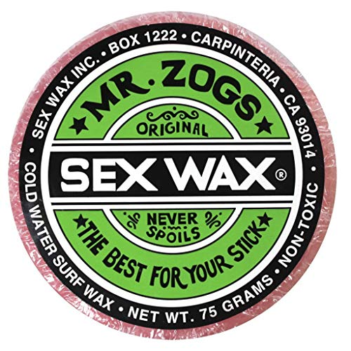 Mr. Zogs Original Sexwax - Cold Water Temperature Coconut Scented (White)