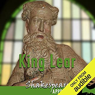King Lear     Shakespeare Appreciated: (Unabridged, Dramatised, Commentary Options)              By:                                                                                                                                 William Shakespeare,                                                                                        Mike Reeves,                                                                                        Phil Viner                               Narrated by:                                                                                                                                 Joan Walker,                                                                                        Terrence Hardiman,                                                                                        Lucy Robinson                      Length: 10 hrs and 42 mins     138 ratings     Overall 4.6