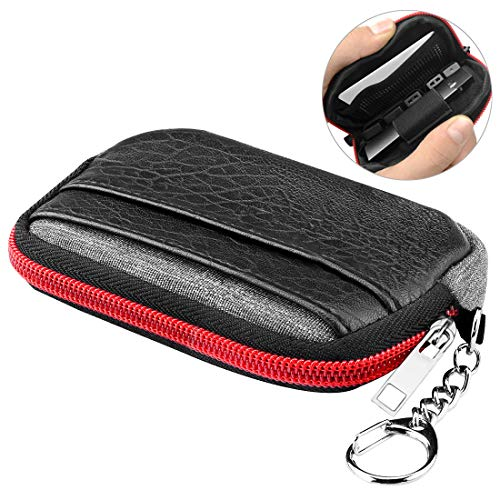 Travel Carrying Case for JUUL Pods Charger, Portable Nylon Material. Pouch Carrying Cover Storage Bag Compatible with Juul Kit/MLV Phix/Bo One/Kandypens Rubi/Vape Pen and Tool Protective Organizer Bag