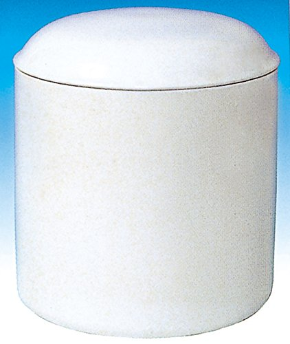 せともの本舗 骨壺 白並 胴径約9×高さ約11cm