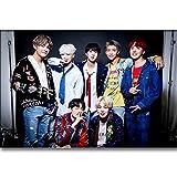 YANGCH DIY 5D Diamant Malerei Kit, koreanische Band BTS