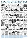 Germanposters Le Corbusier Realisations et projets