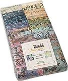 Bali Batik Impressions Strip-Pies 40 6,3 cm Streifen Jelly