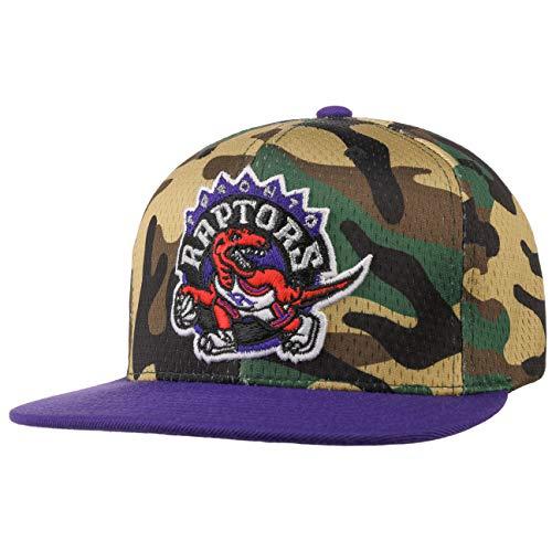 Mitchell /& Ness Herren Snapback Caps Mesh Camo Toronto Raptors Camouflage Verstellbar