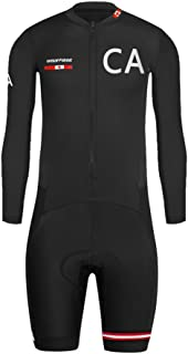 #07 Designs Country Code Series Mens Short Triathlon Suit/Trisuit Cycling Skinsuits Speedsuit Compressible Breathable & Quick Drying for Biking wear