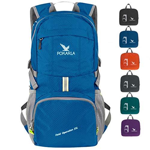 Pokarla 35L Foldable Durable Backpack