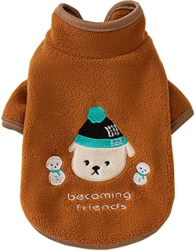 Dog Cold-Weather Hoodies Pet Sale Seasonal Wrap Introduction Warm Coats M for Jacket Vest Small