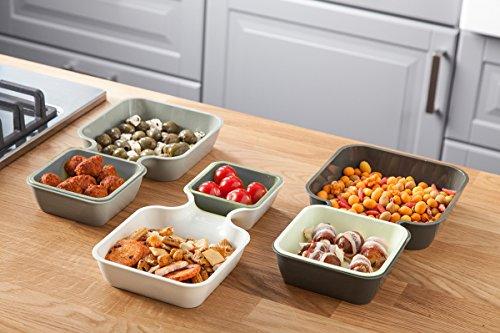Tomorrow`s Kitchen Serve & Stack 6-er Servierschalenset