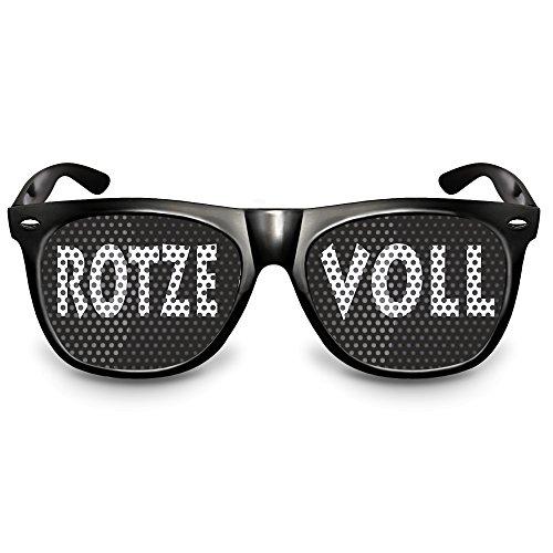 COOLEARTIKEL Karneval / Fasching Party-Brille Spaß-Brille mit Motiv