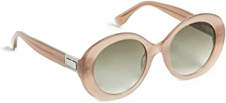 Fendi FBSWB Butterfly Sunglasses for Women - Brown Lens