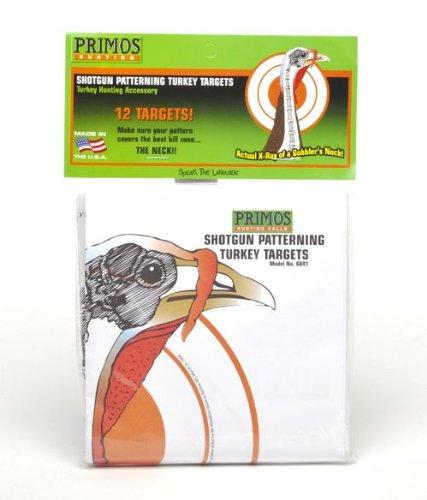 Gifts for Hunters Primos Shotgun Patterning Turkey Targets