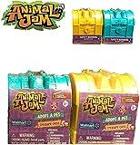 Animal Jam Set of 2 Blind Bag Treasure Chest Adopt A PET Walmart Exclusive.