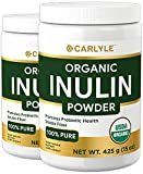 Best Inulin Prebiotics - Carlyle Inulin Fiber Prebiotic FOS Powder 30 oz Review