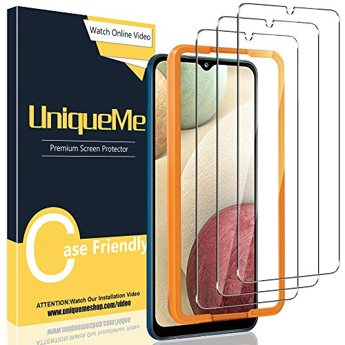 [3 Pack] UniqueMe Compatible con Samsung Galaxy M12 / A32 5G /...