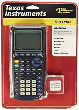 Texas Instruments TI-83 Plus Graphing Calculator  Renewed