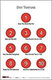 EZ2C Targets Style 17 (50 Count) Dot Torture Training Shooting Drill Target Pack (50), Fun Game Shooting Targets, for Rifles, Pistols and Handguns, Indoor and Outdoor Range, Games Paper Targets