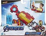 Hasbro E4394EU5 Avengers Iron Man Repulsor-Blaster Handschuh mit 3 Nerf Darts für Rollenspiele, Für Kinder ab 5 Jahren -