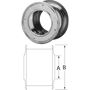 Thimble Wall Double B-Gas 6in