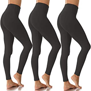 Womens High Waisted Leggings for Women-Tummy Control and...