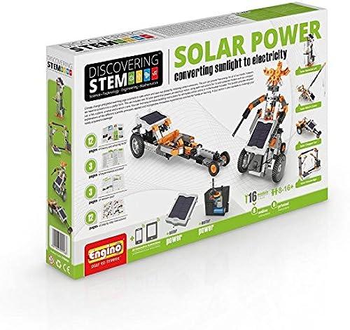 Engino-STEM STEM30 - Konstruktionsbausatz Solarenergie