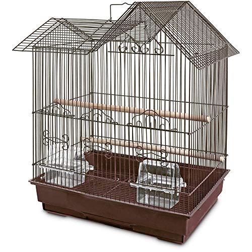 Petco Designer Brown Ranch Style Top Parakeet Cage