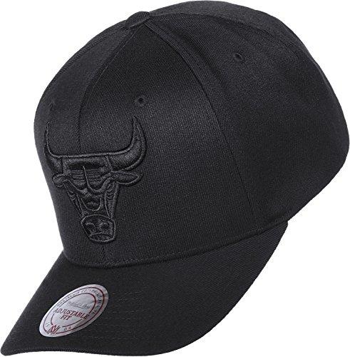 Mitchell & Ness EU889 Snapback Chicago Bulls Schwarz, Size:ONE Size