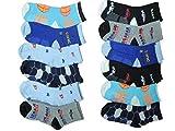 Unbekannt 10 Paar Jungen ABS Socken Größe 24-39 Anti rutsch Noppen (24-27)