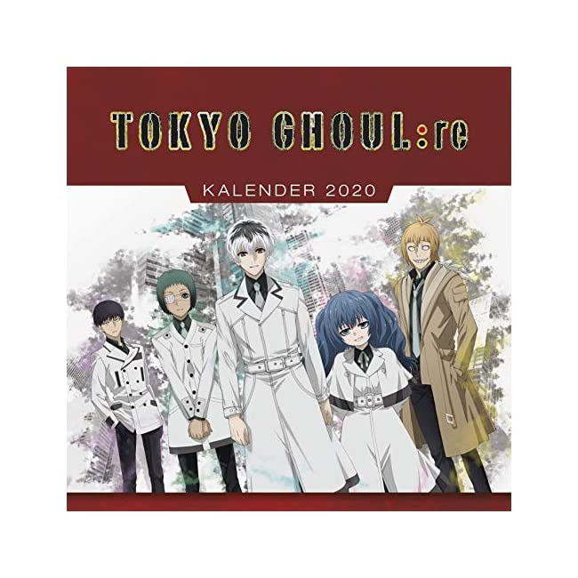 Tokyo Ghoul:re - Wandkalender 2020 | Dein Otaku Shop für Anime, Dakimakura, Ecchi und mehr