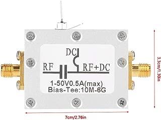 Zetiling Broadband Bias Tee, 10MHz-6GHz Low Noise Amplifier Module Radio Frequency Microwave Coaxial Bias
