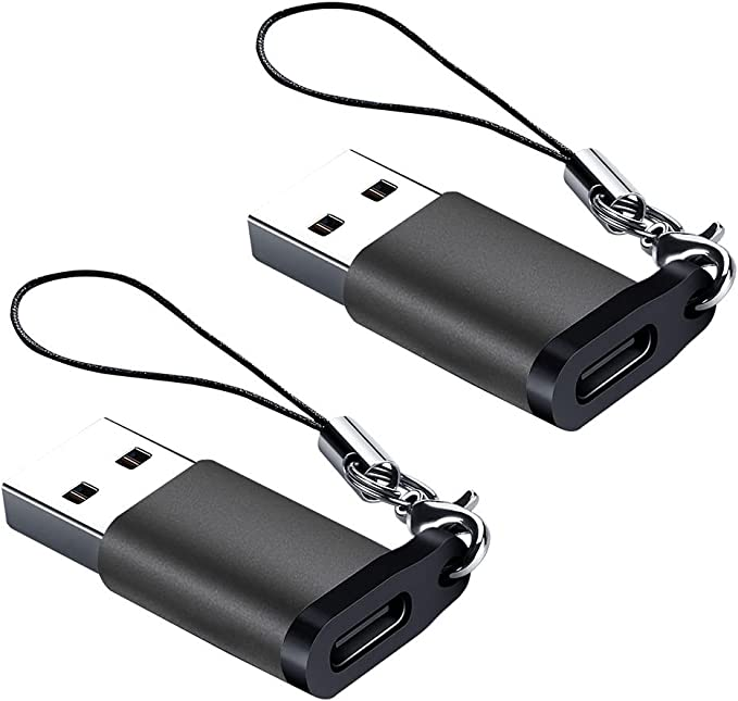 12 opiniones para Adaptador USB C Hembra a USB A Macho (Paquete de 2) con Cordón, Seminer
