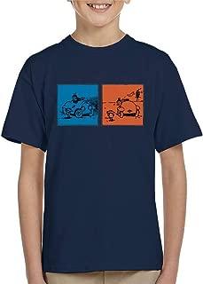 Comics Kingdom Krazy Kat Blue Orange Panel Kid's T-Shirt