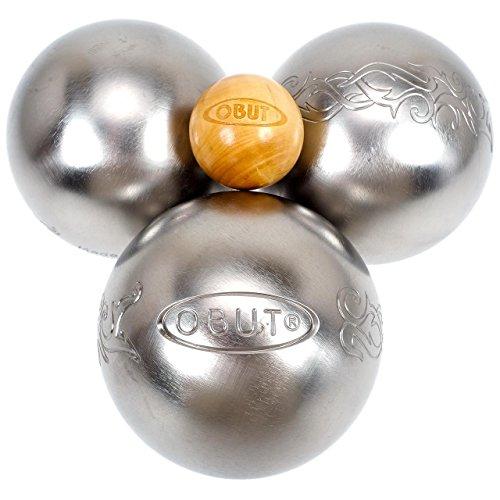 Jeu de 3 boules Tatou - Obut