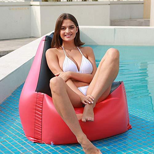 Xlcukx - Sofá hinchable impermeable para el sofá hinchable, con bolsa de transporte, ideal para camping, playa, deportes al aire libre