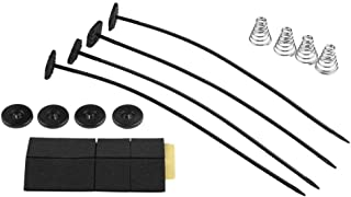 Upgr8 Universal Fan Mount Kit Push Through Radiator Tie Strap Plastic (1 Pack)