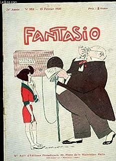 Fantasio, Magazine Gai. N°553 - 24ème année : La Belle Ecouteuse, composition de VALLEE - André Mariage illustré par BARRE...