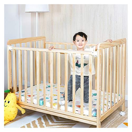 Witou Cuna de bebé, Cuna de Madera extraíble, Ajuste de Altura de 3 Niveles Cuna recién Nacida Cuna de Swing, Silla de balanceo