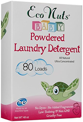 Eco Nuts Baby Natural Powdered Laundry Detergent - 48 oz