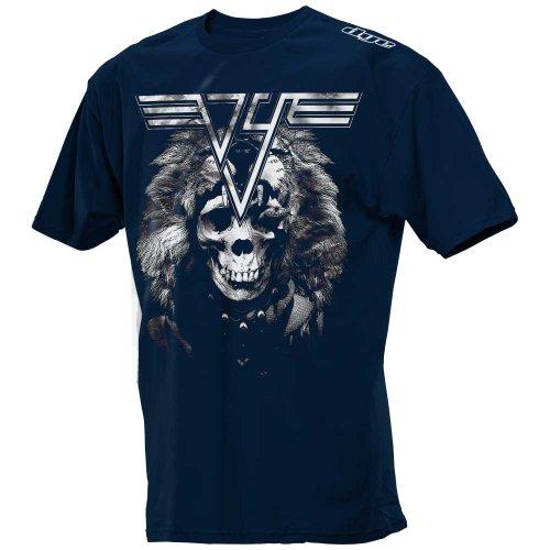 Camiseta de Dye 2012Halen (Talla S), color azul marino