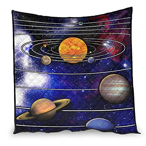 MiKiBi-77 Sistema Solare Condizionatore Aria Condizionata Trapunta Confortevole Guardare TV sul Letto - Sistema Solare Condizionatore QuiltHalloween Bianco 100x150cm