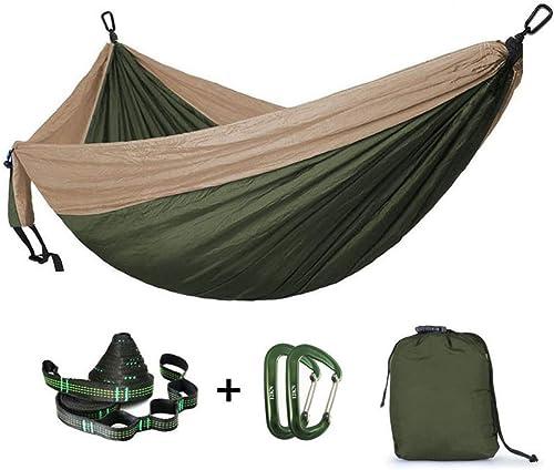 ZHAS Parachute Hamac Camping Survie Jardin Chasse Loisirs Hamac Voyage Double