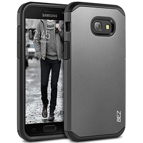 BEZ Cover SamsungA52017, Custodia Compatibile perSamsung Galaxy A5 2017, Cover Posteriore Rigida Protettiva Custodia [Antiurto, Assorbimento-Urto] - Grigio