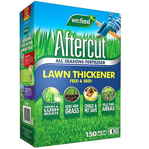Aftercut 20400322 Lawn Thickener Feed and Seed, 150 m2, 5.25 kg, G